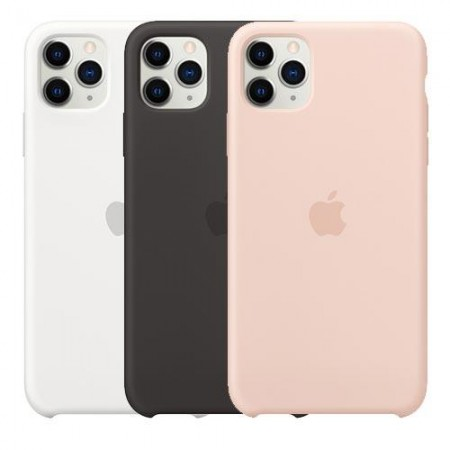 Аксессуары для iPhone APPLE iPhone 11 Pro Silicone Case - (PRODUCT)RED,White,Pink Sand,Black,Pomegranate,Beryl